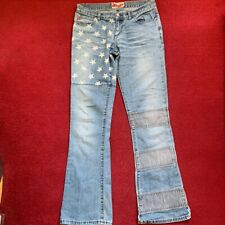 VIP MISS SIXTY MODEL Roxy Pelle Pantaloni ottica Jeans Stretch 28//34 w28 l34
