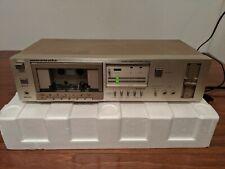 Vtg RARE Marantz SD 320 Single Cassette Tape Deck Recorder Gold Brushed Finish