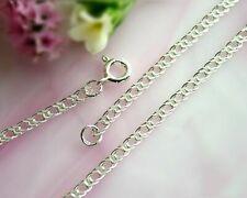 Damen Armband Silber 925 Doppelanker 20 cm 2,8 mm  Sterlingsilber sa08