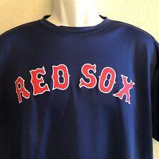 Boston Red Sox 23 Cool Base Jersey T-Shirt Mens Large Blue Majestic
