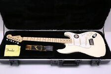 2012 Fender American Stratocaster With Custom Pickups Olympic White w/ Orig Case