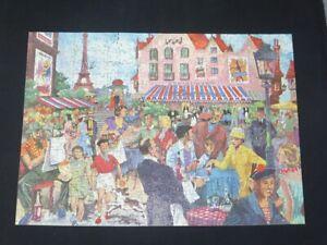 VINTAGE Good Companion Jigsaw Puzzle Over 400 pieces 72 Parisian Cafe COMPLETE