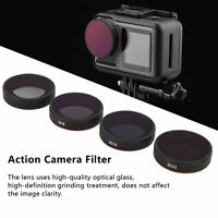 Waterproof ND Filter Set ND4 ND8 ND16 ND32 Accessory for DJI OSMO Action Camera