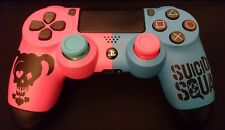 """Custom Microsoft Playstation 4 PS4 """"Harley Quinn - Suicide Squad"""" Controller"""