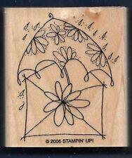POSTAGE ENVELOPE Daisy RAIN WEDDING SHOWER Post Stampin' Up! CRAFT RUBBER STAMP