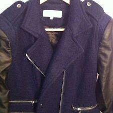Calvin Klein Women's wool Coat Size Petite Large Retail $ 360.00