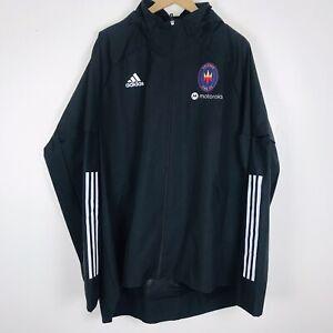 Adidas Chicago Fire FC Motorola Soccer Jacket Men's Sz 2XL FS7837 NWT $80