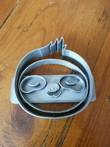 Sloth Head Cookie Cutter small