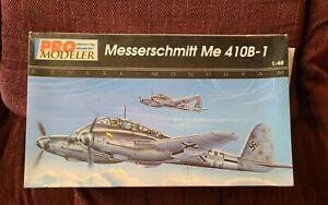 1/48 Revell Monogram Pro Modeler Messerschmitt Me 410B-1 Plastic Kit OPEN BOX