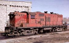 MKT Katy Baldwin AS416 #126 diesel locomotive train railroad postcard