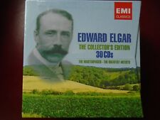 EDWARD ELGAR 30 CD BOX Collector's Edition 2007 SEALED MINT Masterpieces Various
