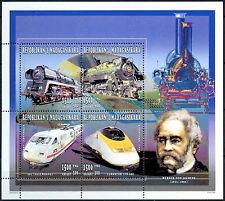 Madagascar 1996 Railway Locomotives MNH M/S #A84536