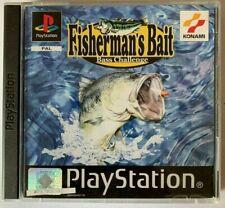 PS1 Fischerman's Bait Bass Challenge OVP Sony Playstation 1 BESTSELLER