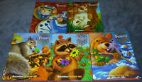 Lot 5 Treasures: A Reading/Language Arts Program ~Grade 1 Curriculum Textbooks