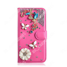 Jewelled Bling Case Crystal Rhinestone Flip Cover Magnetic Skin for Mobile Phone
