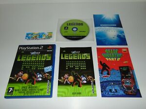 Taito Legends 1 + Art Card   Sony PlayStation 2 PS2 PAL   Complete