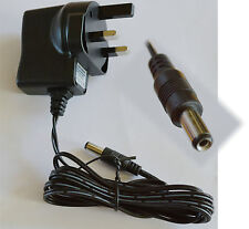 8V Adaptor Charger 5mm Ø Connector Europe Mains to 8 Volt DC - AC  Plug CEE 7/16