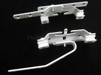 Pair of Integra curved bay Master slides metal corded curtain track overlap part