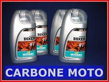 4 LITRI OLIO MOTOREX  BOXER 4T 15W50 SINTETICO INDICATO PER MOTO BMW