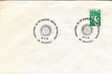 (22450) France Cover - Rotary International - Grenoble 1979