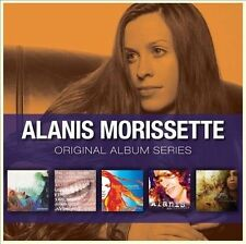 Alanis Morissette ORIGINAL ALBUM SERIES Jagged Little Pill NEW SEALED 5 CD SET