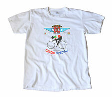 Rare Vintage Nisi Cerchi Speciali T-Shirt - Italian Cycling, Rims, World Champ