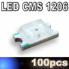 105/100# LED CMS 1206 bleu -280mcd - SMD blue - 100pcs