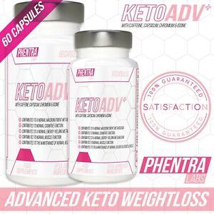 Keto Diet Pills Strong Fast Weight Loss Fat Burner Ketosis & Slimming Capsules