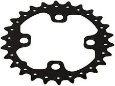 Platos y coronas negras para bicicletas 26 dientes