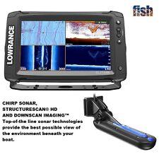 Lowrance Elite-9 Ti Chartplotter/fishfinder + Totalscan Transducer & TRACKBACK™