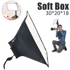 Flash Speedlite Softbox Diffuser 20x30cm Portable Studio Soft Box for Speedlight