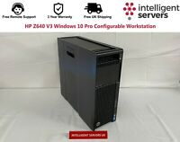 HP Z640 V3 Windows 10 Pro Configurable Workstation