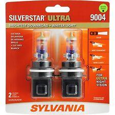 Sylvania Silverstar Ultra 9004SU/2 Headlight Bulbs - Pair