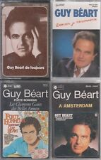 GUY BEART  LOT DE 4 K7 CASSETTES AUDIO
