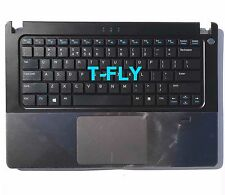 NEW DELL VOSTRO V5470 US Keyboard + TopCase Palmrest Touchpad 1CH1D (53JW1)