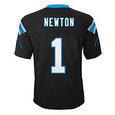 Cam Newton Carolina Panthers NFL Kids Black Home Jersey Size Small 4 $45