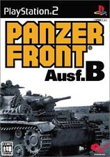 Used PS2 Panzer Front Ausf.B  SONY PLAYSTATION JAPAN IMPORT