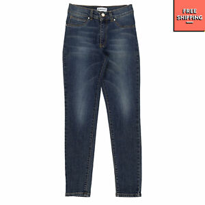 PINKO UP Jeans Size M / 8Y Faded Effect Made in Portugal
