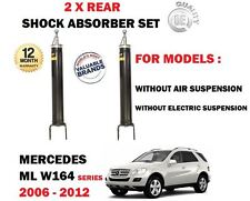 Per MERCEDES ML350 ML420 ML450 CDI 4 MATIC 2005 - > 2X Posteriore Ammortizzatore Set