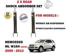FOR MERCEDES ML350 ML420 ML450 CDI 4 MATIC 2005-  2X REAR SHOCK ABSORBER SET