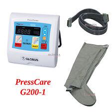 GLOBUS pressoterapia PressCare G200-1 con 1 gambale a 4 sezioni - 2 programmi