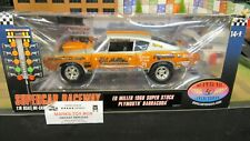 DCP HWY 61#50927 ED MILLER 68 1968 PLYMOUTH BARRACUDA SUPER STOCK CAR 1:18/CL