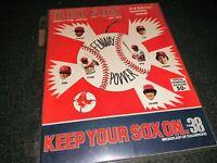 1975 Boston Red Sox Yankees Baseball Fenway Park Scorebook Program 3rd Edition