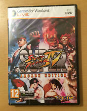 Super Street Fighter IV Arcade Edition,GAME,Windows,FIGHT, NEW(PC,DVD) Free Ship