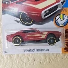 2017 Hot Wheels ERROR '67 Pontiac Firebird 400 Free Shipping Rare VHTF RARE