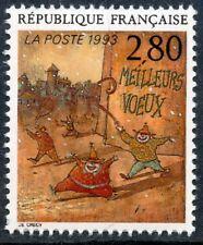 STAMP / TIMBRE FRANCE NEUF N° 2844 ** LE PLAISIR D'ECRIRE / MEILLEURS VOEUX