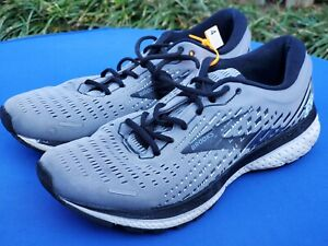 Brooks Men's Ghost 13 Running Shoes Athletic Sneakers Grey 1103481D040 Size 12 D
