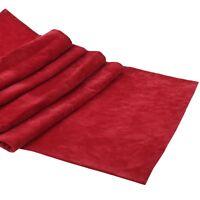 Tischläufer Samt Rot 40x180cm Tischdeko Weihnachten Läufer Küche Esszimmer Rot