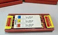 SANDVIK R166.0G-16UN01-080 1020 CARBIDE THREADING INSERTS 1 Pack (10 inserts)