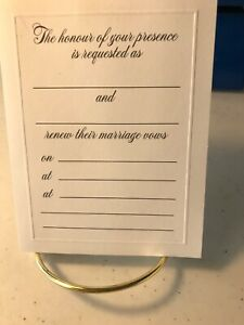 Hallmark Invitations To Marriage Vow Renewal Ceremony